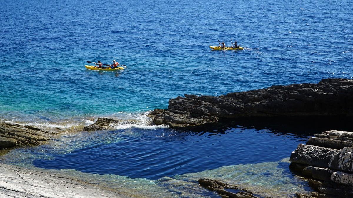 Dugi Otok 1 Day Kayak Adventure Kayak Amp Bike Adventure