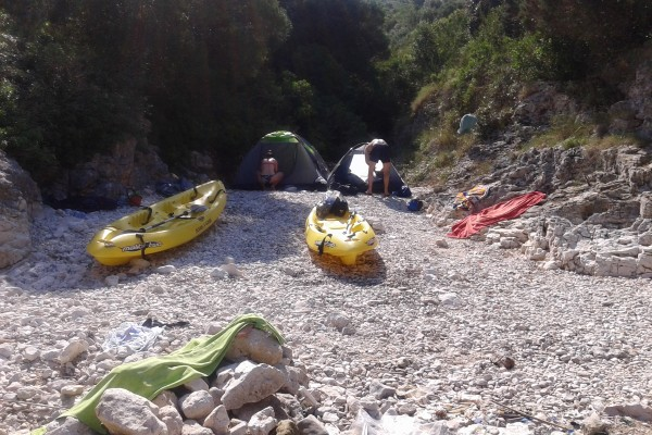 Dugi otok 2 day kayak adventure